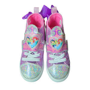 Disney Princess Iridescent Glitter Gym Shoe 11
